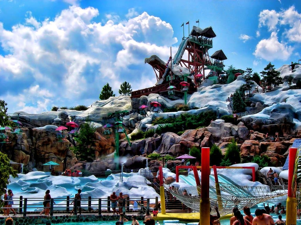 Tobogã no Disney's Blizzard Beach