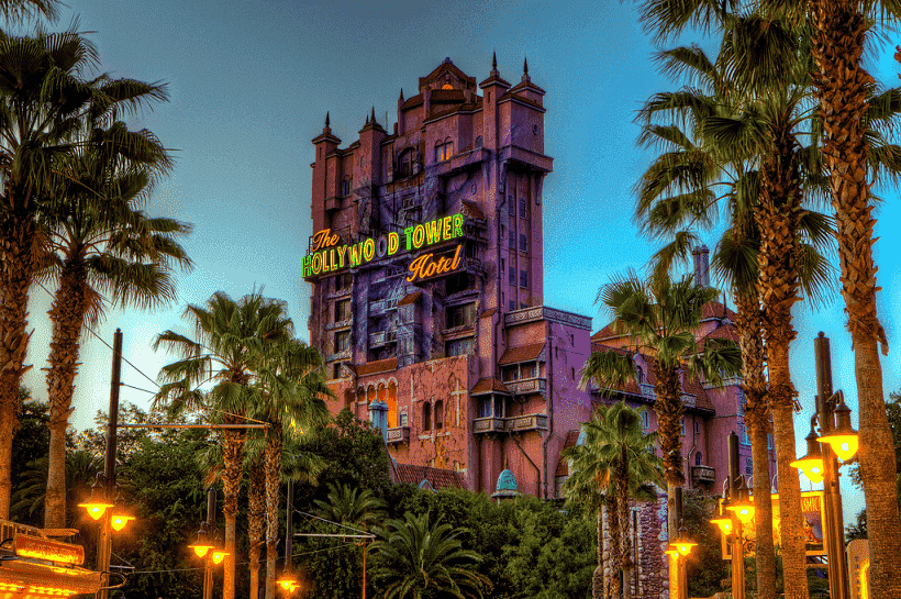 Tower do Parque Disney Hollywood Studios em Orlando