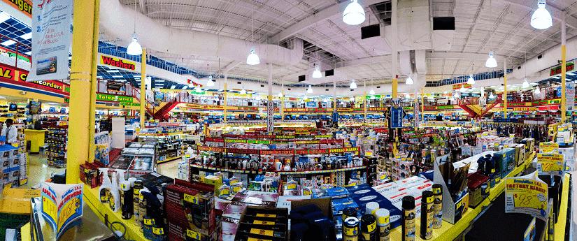 Loja de eletrônicos BrandsMart USA
