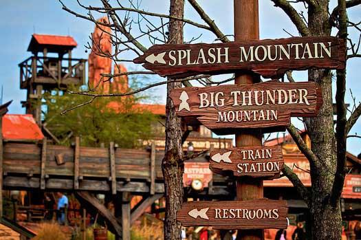 Atrações e brinquedos do Magic Kingdom na Disney
