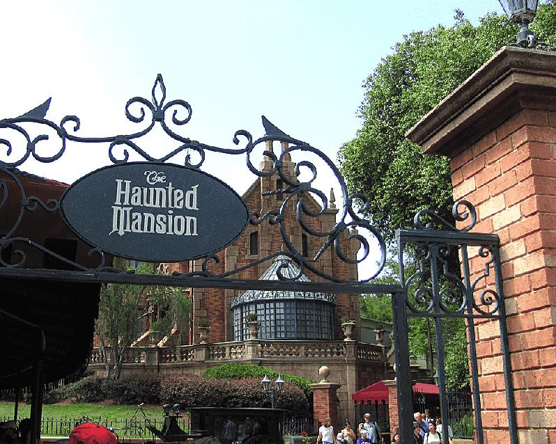 Haunted Mansion no Magic Kingdom em Orlando