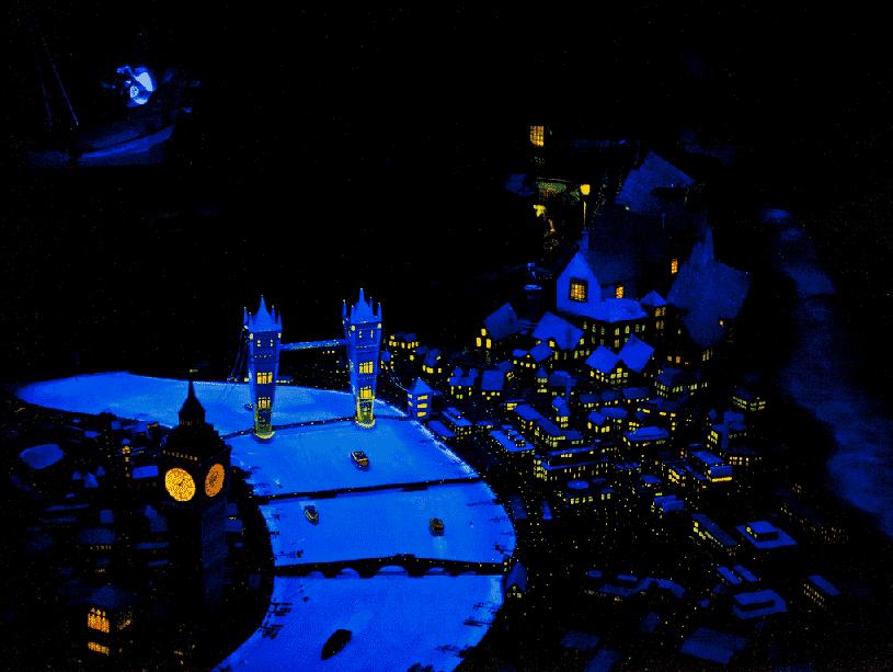 Peter Pan's Flight no Magic Kingdom na Disney