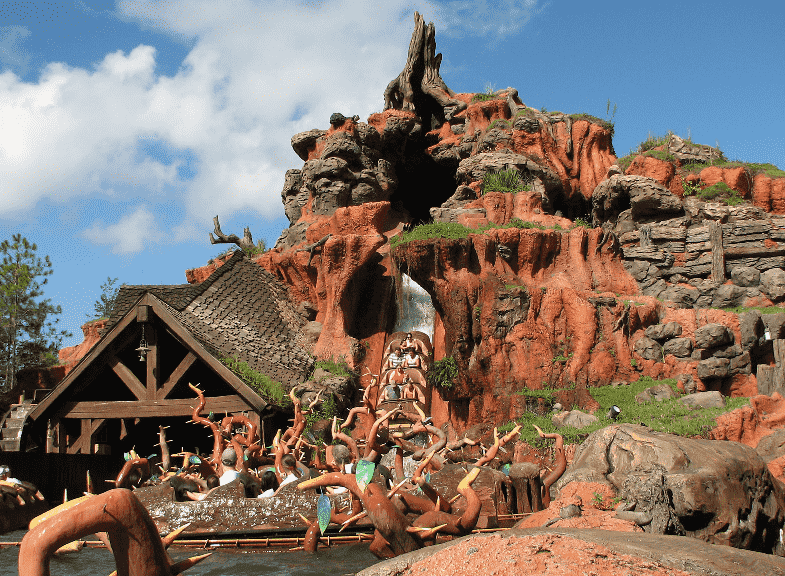 Splash Mountain no Magic Kingdom na Disney