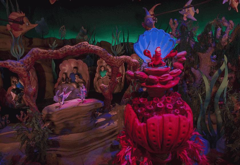 Under the Sea no Magic Kingdom em Orlando
