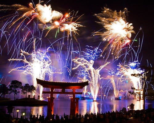 Show IlumiNations: Reflections of Earth no Epcot em Orlando