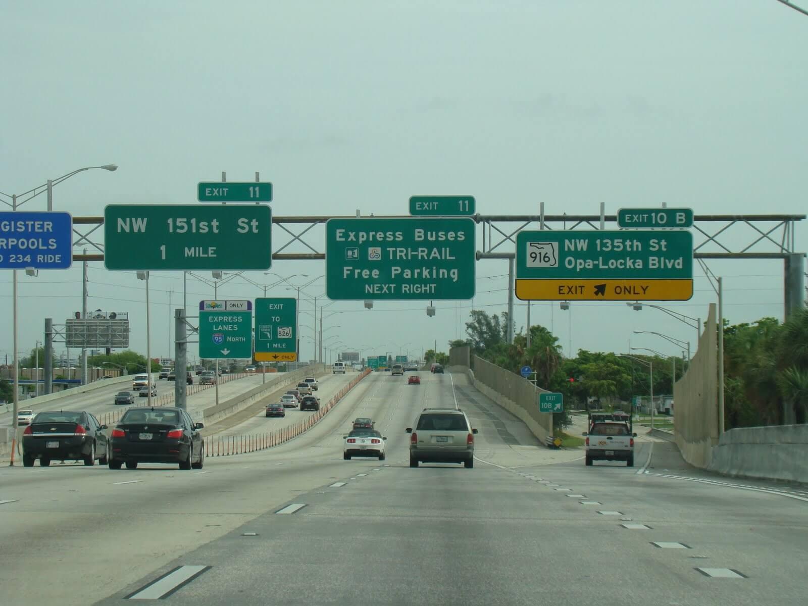Viagem de carro de Miami a Orlando e Orlando a Miami