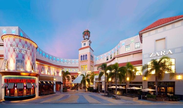 Shoppings e Outlets em Miami - Aventura Mall