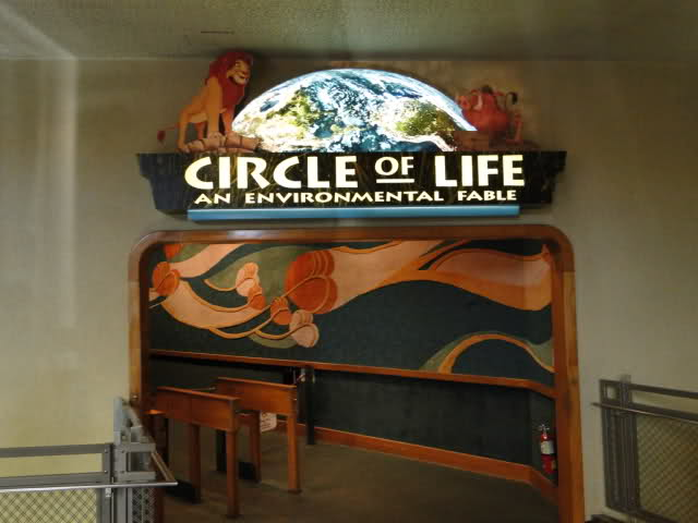 The Circle of Life no Epcot na Disney