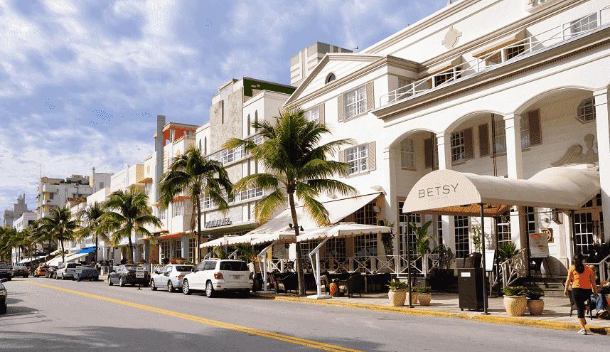 Lojas de rua em Miami