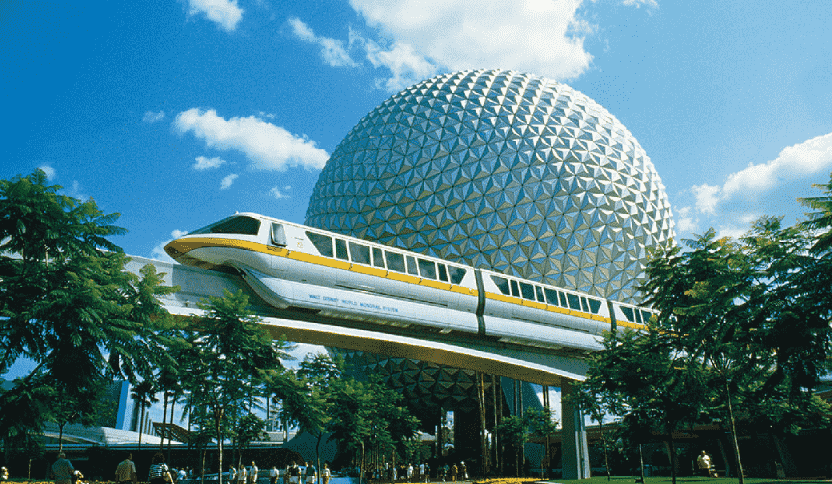 Spaceship Earth no Epcot em Orlando