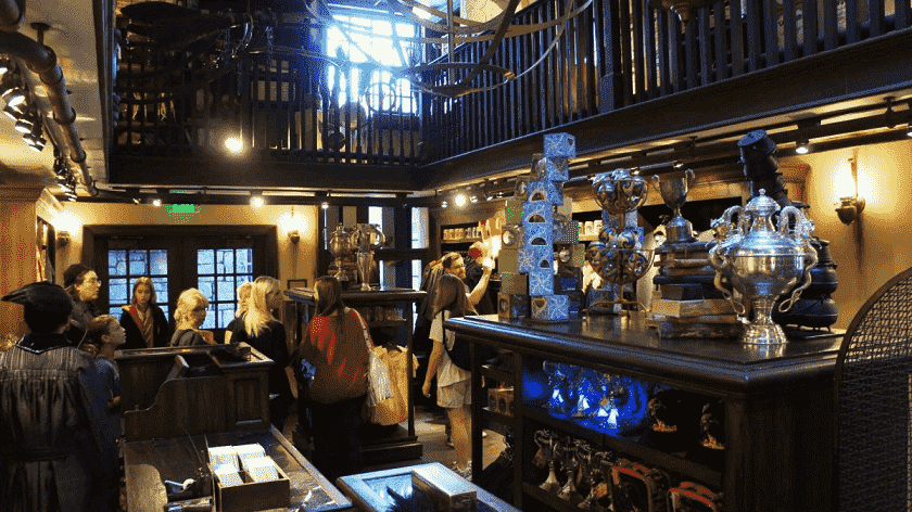 Lojas do Harry Potter no Universal Studios
