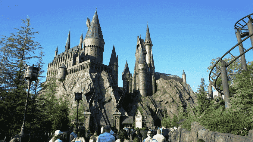 Guia do Harry Potter ema Orlando