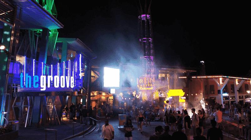 Discotecas en CityWalk en Orlando