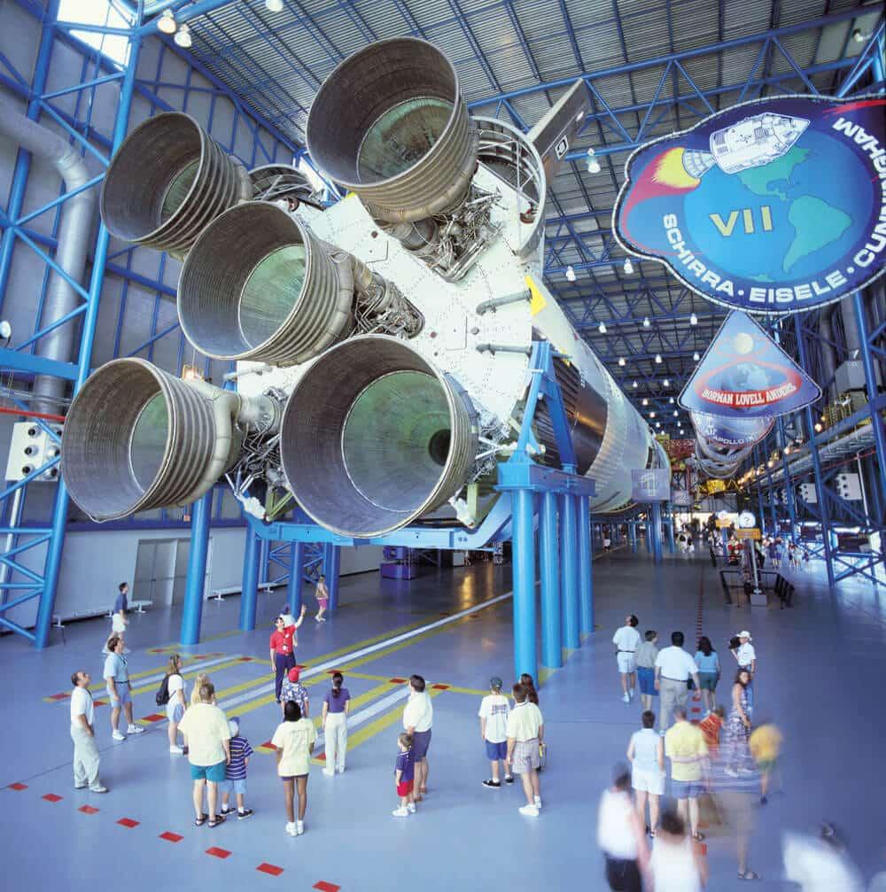 Centro espacial da NASA em Orlando - Kennedy Space Center