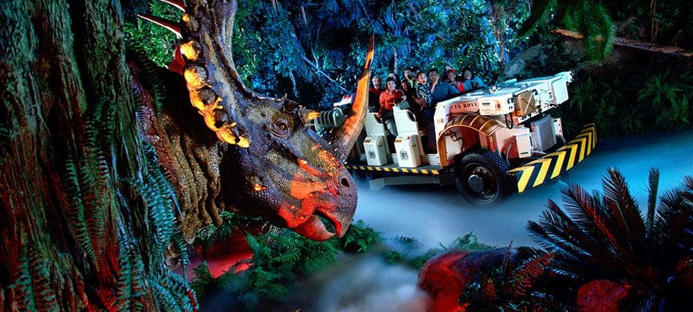 Dinosaur no Animal Kingdom na Disney em Orlando