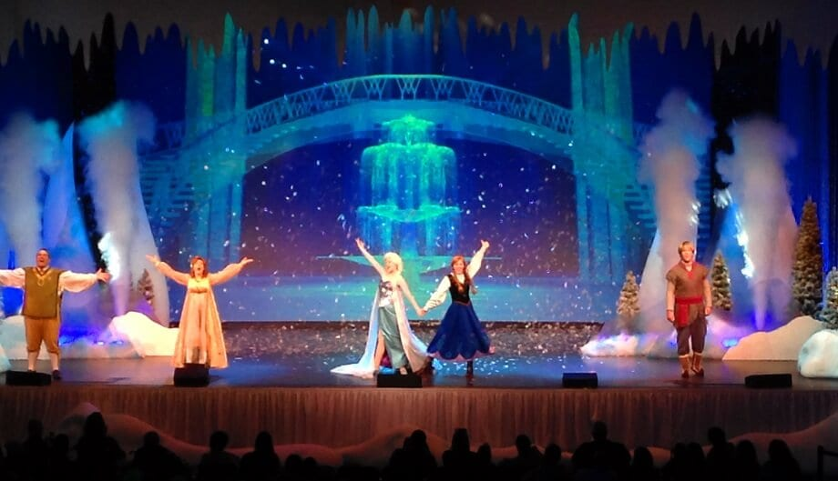 Musical do Frozen no Hollywood Studios Orlando