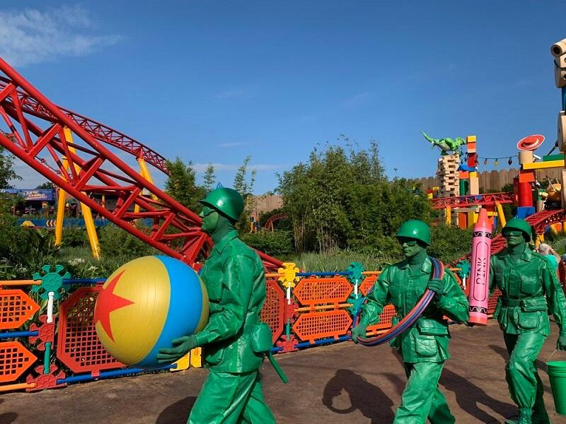 Sargento e os soldadinhos verdes de Toy Story