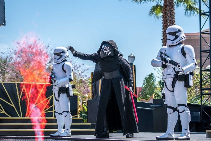 Atrações do Star Wars no Hollywood Studios na Disney