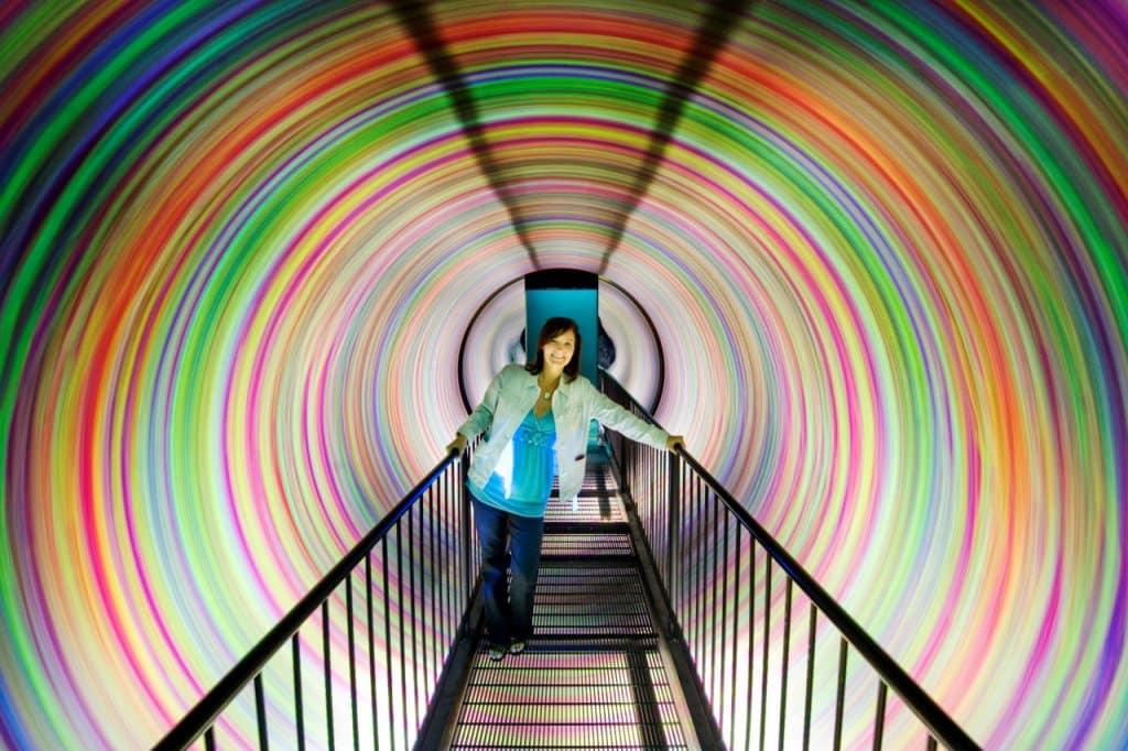 WonderWorks em Orlando - Inversion Tunnel