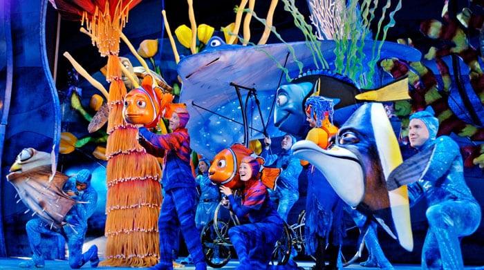 Show do Procurando o Nemo no Animal Kingdom