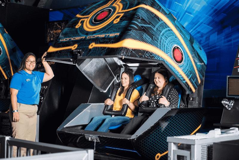 Wonderworks - Wonder Coaster em Orlando