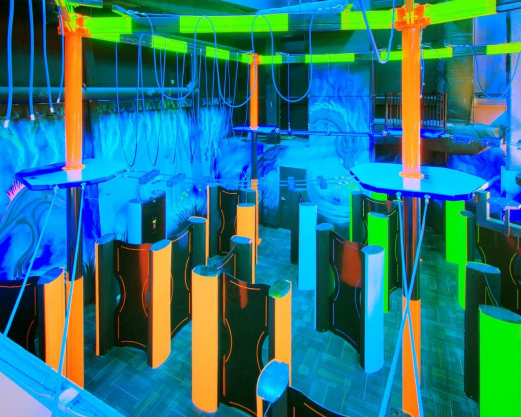 WonderWorks em Orlando - Laser