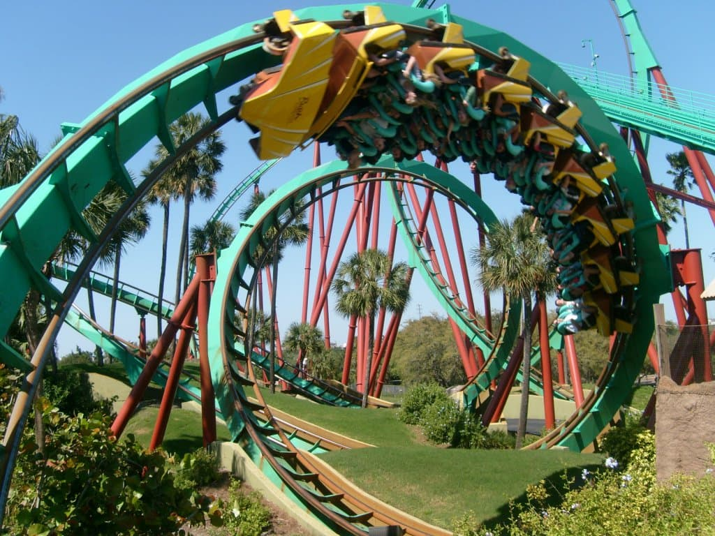 Parque Busch Gardens Tampa em Orlando