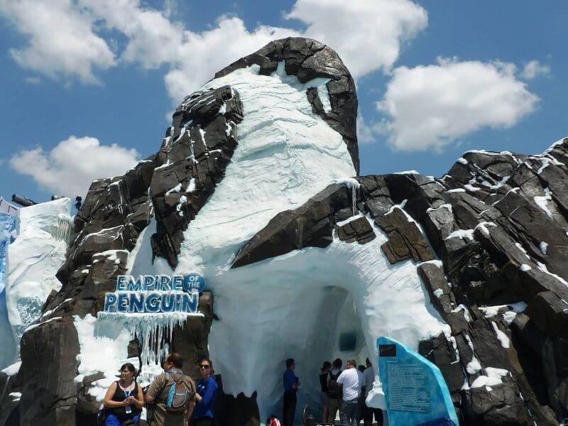 Antarctica Empire of the Penguin no SeaWorld em Orlando