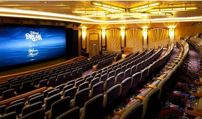 Cruzeiro Disney Dream Teatro