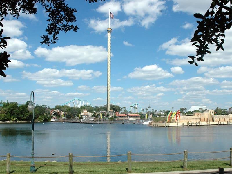 Sky Tower no Sea World em Orlando