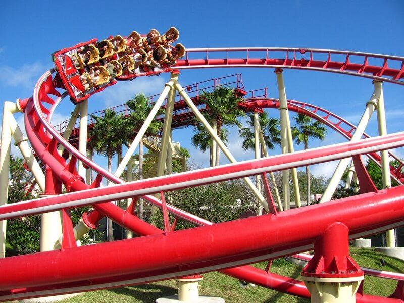 Montanha-russa Rock It no Universal Studios