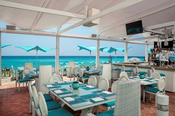Como é o restaurante Bella Beach Club em Miami