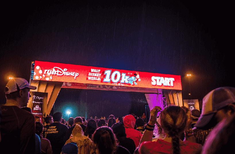 Corrida 10K na Disney em Orlando