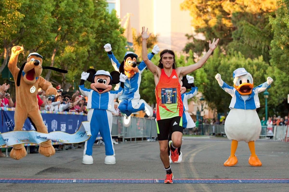 Corrida da Walt Disney World Marathon Weekend na Disney Springs Orlando