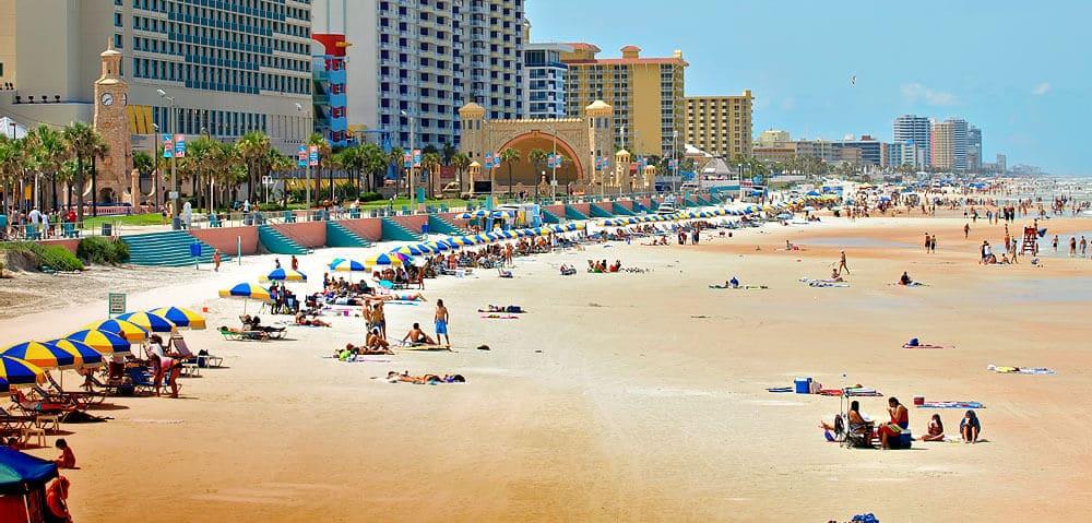 Daytona Beach en Florida: Playa y diversión