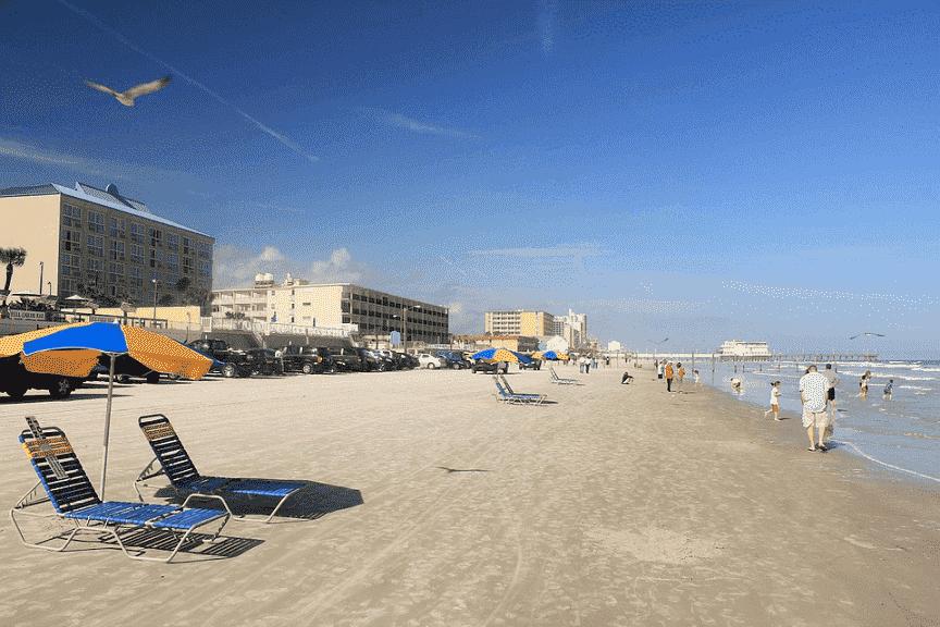 Playas en Daytona Beach