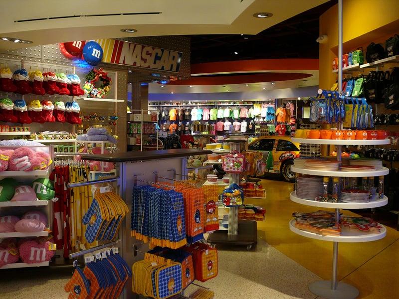 Lojas do Shopping Florida Mall em Orlando