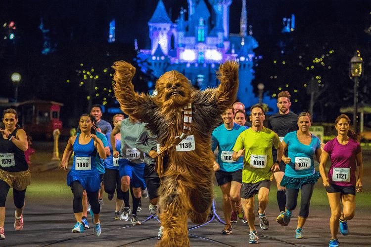 Meia Maratona Star Wars na Disney em Orlando