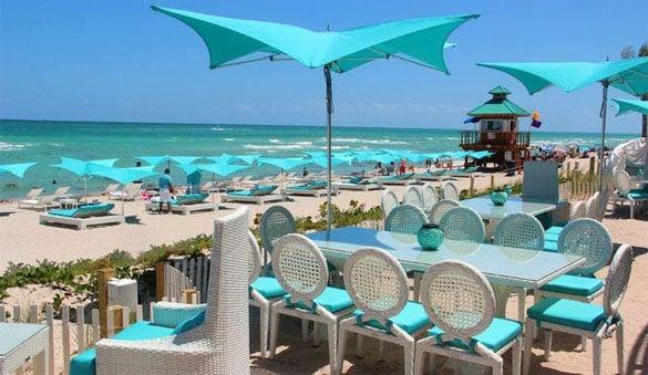 Restaurante Bella Beach Club em Miami