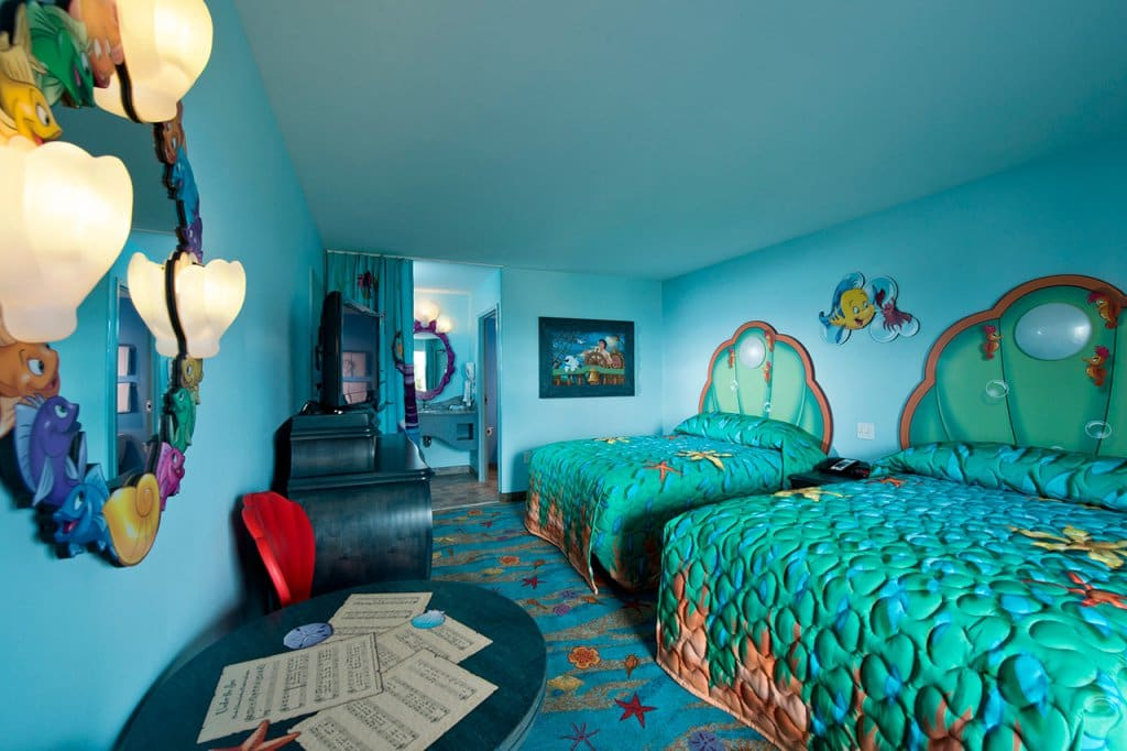 Como são os hotéis da Disney em Orlando