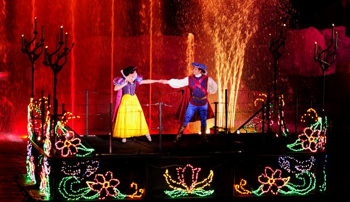 Show Fantasmic da Disney no Hollywood Studios