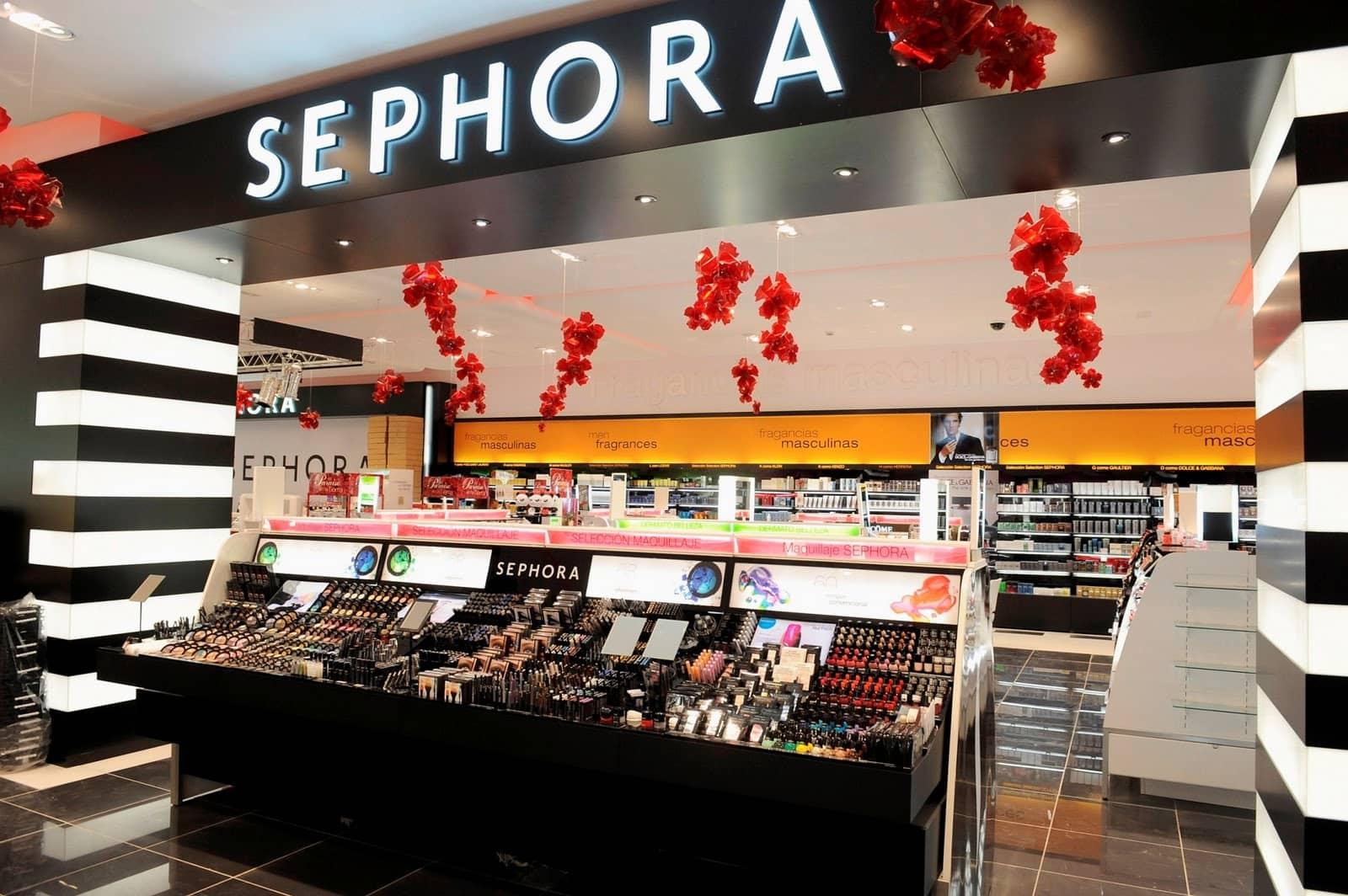 Loja de maquiagens Sephora em Miami e Orlando
