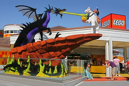 Downtown Disney Loja do Lego