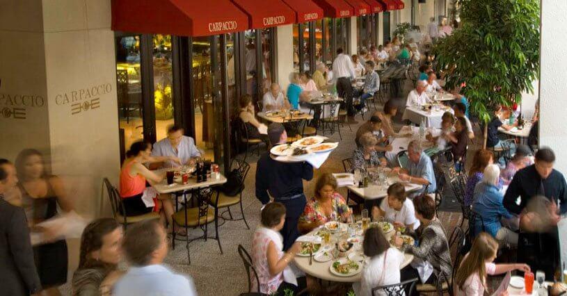 Onde comer no Bal Harbour Shops em Miami