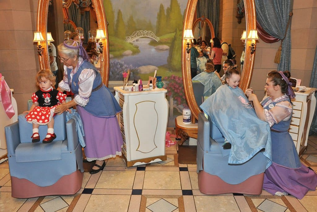 Downtown Disney Bibbidi Bobbidi Boutique