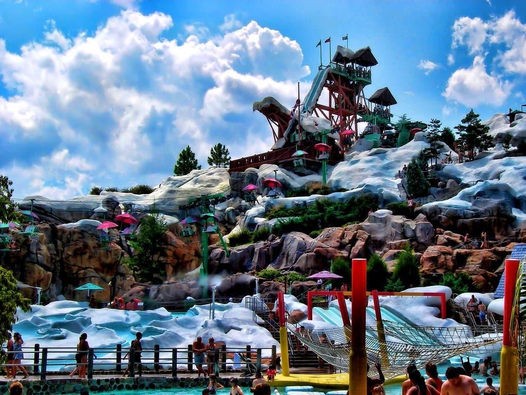 Parque Aquático Disney´s Blizzard Beach em Orlando