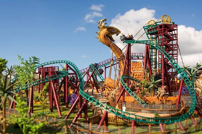 Como é o parque Busch Gardens em Orlando