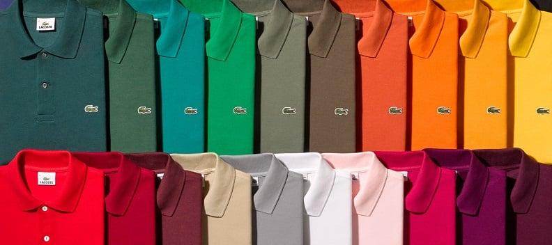 Comprando roupas da Lacoste em Miami e Orlando