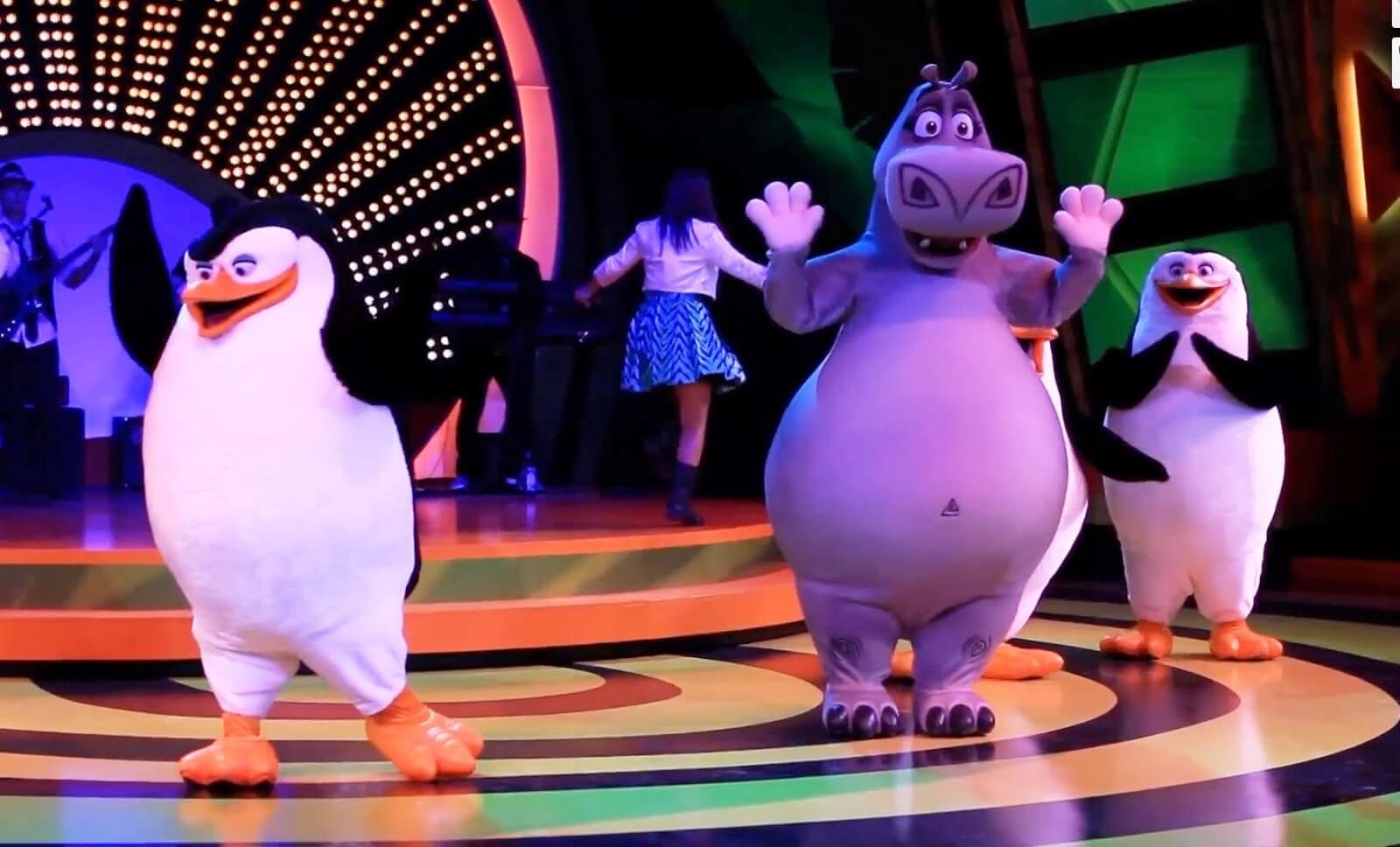 Show del Madagascar en Disney
