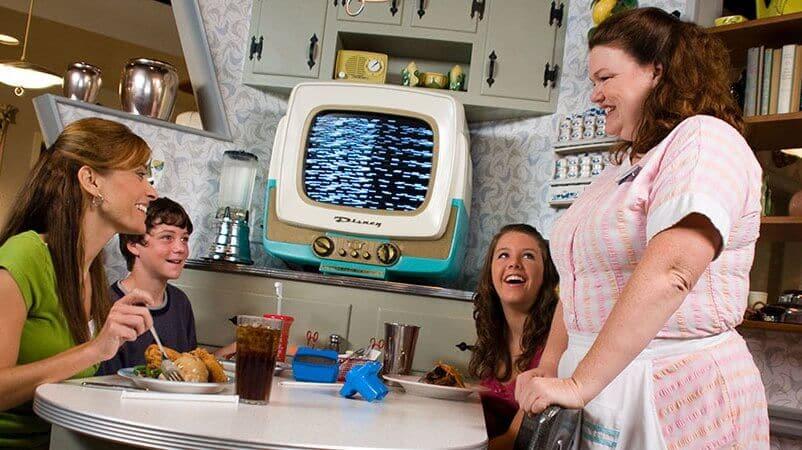 Restaurante 50s Prime Time Cafe no Disney's Hollywood Studios